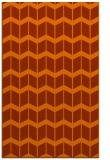 rug #1014357 |  red-orange gradient rug