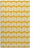 rug #1014405 |  yellow gradient rug