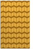 rug #1014417 |  yellow gradient rug