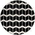 rug #1014461 | round black gradient rug