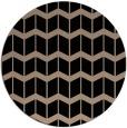 rug #1014469 | round beige gradient rug