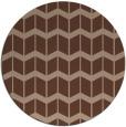 rug #1014476 | round gradient rug