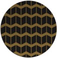 rug #1014477 | round mid-brown popular rug
