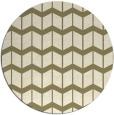 rug #1014484 | round gradient rug