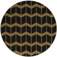 rug #1014485 | round mid-brown gradient rug