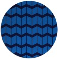 rug #1014489 | round blue gradient rug