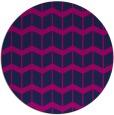 rug #1014493 | round blue gradient rug
