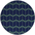 rug #1014497 | round blue-green gradient rug