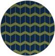 rug #1014501 | round blue gradient rug