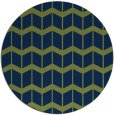 rug #1014501 | round blue rug