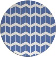 rug #1014505 | round blue gradient rug