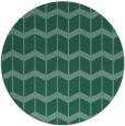 rug #1014513 | round blue-green gradient rug