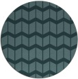 rug #1014533 | round blue-green gradient rug