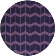 rug #1014557 | round purple gradient rug