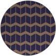 rug #1014565 | round beige gradient rug