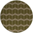 rug #1014573 | round mid-brown gradient rug