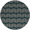 rug #1014589 | round blue-green gradient rug