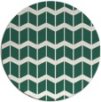 rug #1014593 | round blue-green gradient rug