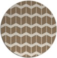 rug #1014609 | round mid-brown gradient rug