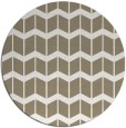rug #1014613 | round mid-brown gradient rug
