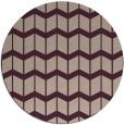 rug #1014617 | round gradient rug