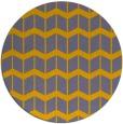 rug #1014624 | round gradient rug