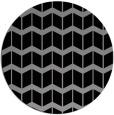 rug #1014632 | round gradient rug