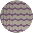 rug #1014637 | round purple gradient rug