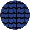rug #1014653 | round black gradient rug