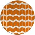 rug #1014661 | round orange gradient rug