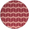 rug #1014681   round pink gradient rug