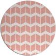 rug #1014685 | round white gradient rug