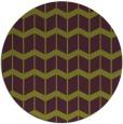 rug #1014693 | round green popular rug