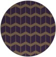 rug #1014697 | round mid-brown gradient rug