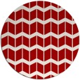 rug #1014705 | round red gradient rug