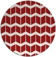 rug #1014713 | round red gradient rug