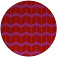 rug #1014717 | round red rug