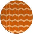 rug #1014725 | round red-orange gradient rug