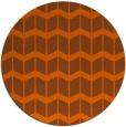 rug #1014729 | round red-orange gradient rug