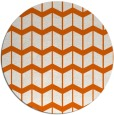 rug #1014733 | round red-orange gradient rug