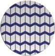 rug #1014749 | round blue gradient rug