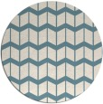 rug #1014761 | round blue-green gradient rug