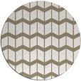 rug #1014765 | round beige gradient rug