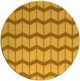 rug #1014781 | round light-orange gradient rug