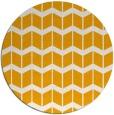 rug #1014805 | round light-orange natural rug