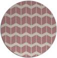rug #1014809   round pink gradient rug