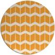 rug #1014817 | round light-orange gradient rug