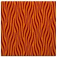 rug #1015385 | square red-orange stripes rug