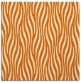 rug #1015389 | square orange stripes rug