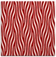 rug #1015433 | square red stripes rug